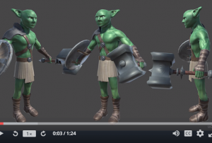 Create Game Characters in Blender
